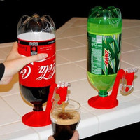 Drinking Soda Dispense Cool Fizz Saver Dispenser Water Machine Kitchen Gadget