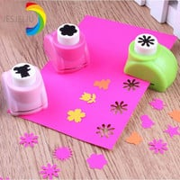 1pcs Kid Child Mini Printing Paper Hand Shaper Scrapbook Tags Cards Craft DIY Punch Cutter Tool