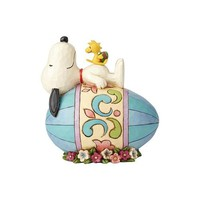 Snoopy on Easter Egg
