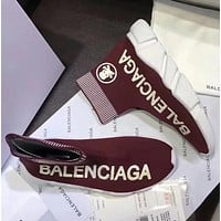 '' Balenciaga '' Stretch fabric, casual sports shoes, socks boots