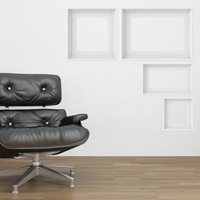 wall decal - White Frames