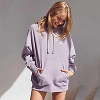 Champion sweater female new wild couple casual small C embroidery loose plus velvet couple sweatshirt male