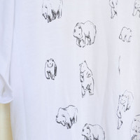 Bears Tee by leahgoren on Etsy