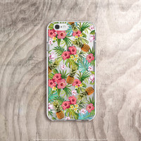 Pineapple iPhone 6s Case Pineapple iPhone 6 Case Clear Summer iPhone Cases iPhone 6s Plus Case Tough Samsung Galaxy Note 5 Case Pineapple