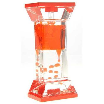 Liquid Motion Bubbler With One Wheel (Red) U977-TG01 Red