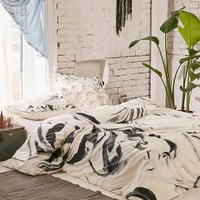 Jacqueline Maldonado For DENY Black And White Duvet Cover | Urban Outfitters