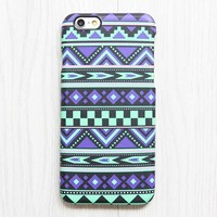 Violet Green Tribal iPhone XR case iPhone XS Max plus Ethnic iPhone 8 SE  Case Aztec Samsung Galaxy S8 S6  Case 084