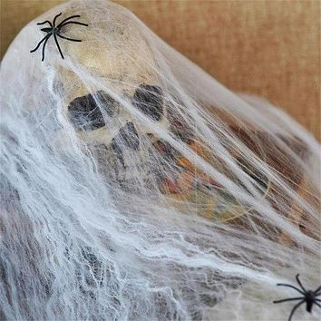 Spider Webs 2018 Halloween Party Scary Scene Props