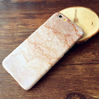 Champagne Marble Case Cover for iPhone 5s 6 6s Plus Gift-156