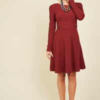 The Flirts of Its Kind A-Line Dress | Mod Retro Vintage Dresses | ModCloth.com