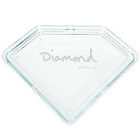 The Diamond Ashtray in Clear