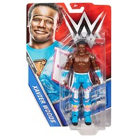 Xavier Woods WWE 2016 Smack Down Wrestling Action Figure NIB Mattel Series 67