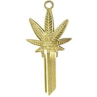 Sweet Leaf Marijuana Key Blank