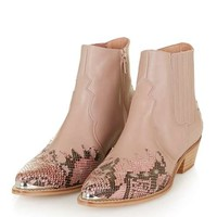 ARSON Western Ankle Boots - Shoes