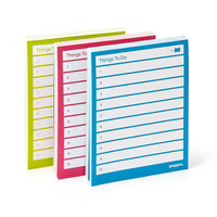 Assorted Task Pads, Set of 3