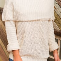 Truth In Dreams Sweater, Cream