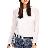 Quilted Cheer Squad Top