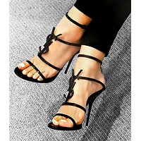 YSL  Fashion New Letter High Women High Heels High Quality Shoes