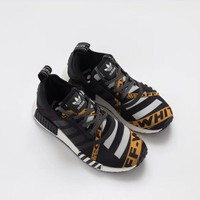 Off-White x Adidas NMD R1 Boost Sneakers