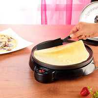 Crepe Makers Electric Baking Pan Cooking AppliancesTools Thin Pancake Maker Machine for Kitchen Red Black Pizza Machine