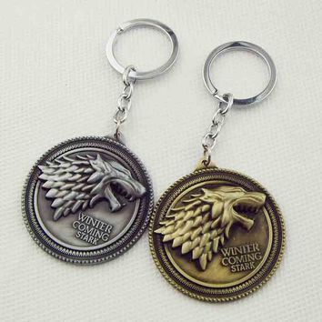 HBO Game of Thrones key chain