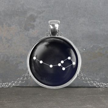 Ursa Minor Constellation Pendant