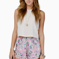 Double The Tier Shorts $26