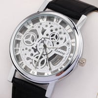 Casual Mens Hollow Out Watch
