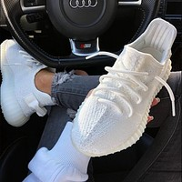 Hipgirls Adidas Yeezy 550 Boost 350 V2 Hot Sale Fashion Couple Casual Sneakers Shoes