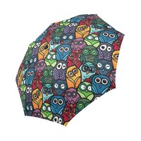 Funny Owls Auto-Foldable Umbrella