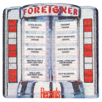 Foreigner Men's Records Embroidered Patch Multi