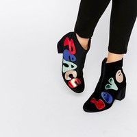 ASOS RINGO Peace and Love Boots