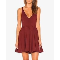 Final Sale - MINKPINK - Date Night Mini Dress in Spice