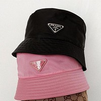 Prada Fashion Bucket Hat Cap