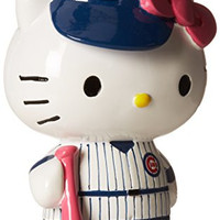 MLB Chicago Cubs Hello Kitty Resin Bank