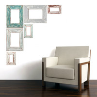 Adhesive Weathered Frames
