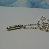 Silver Bullet Necklace