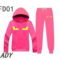 Fendi Women jogger set hoodies and sweatshirts