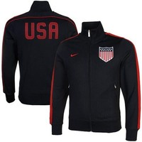 Nike US Soccer Authentic N98 Jacket - Navy Blue/Red