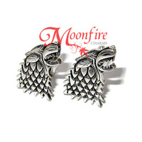 GAME OF THRONES House Stark Direwolf Cufflinks