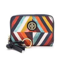Tory Burch Kerrington Zip Coin Case