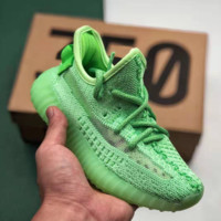 Green Adidas Yeezy Boost 350 V2 Causal Classic Running Sports Sneakers Shoes EF2367