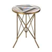 Beach Vibes Tri-Leg End Table Nikki Chu