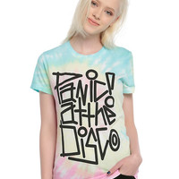 Panic! At The Disco Tie Dye Logo Girls T-Shirt
