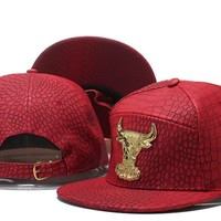 Perfect NBA Chicago Bulls Snapback hats Women Men Embroidery Sports Sun Hat Baseball Cap Hat