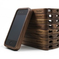 Vintage Walnut Wooden Case for iPhone4/4s