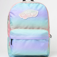 Vans Realm Tie-Dye School Backpack - Womens Backpack - Rainbow Ab - One