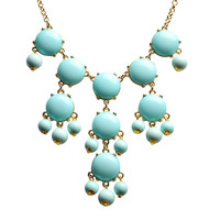 Modern Bubble Necklace Resin Jewelry Chunky Pendant Necklace Accessories