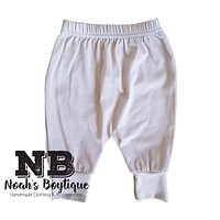 Noah's Boytique Baby Boy Gray Grey Pants