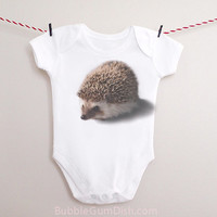 Hedgehog Baby Bodysuit OnePiece Hedgie Baby Outfit for New Babies & Toddlers